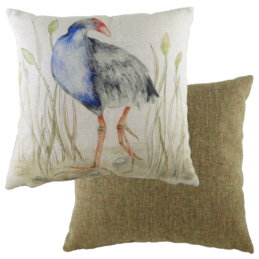 Game Birds Moorhen Cushion
