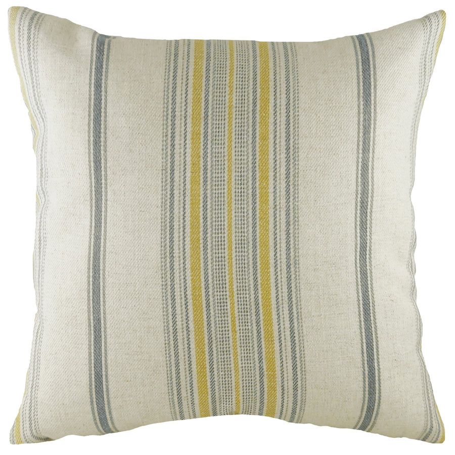 Glendale Stripe Ochre Cushion