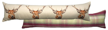 Heather Stag Draught Excluder