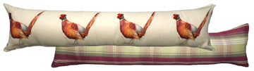 Heather Pheasant Draught Excluder