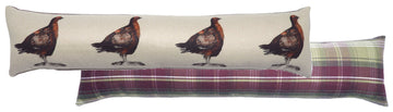 Heather Grouse Draught Excluder