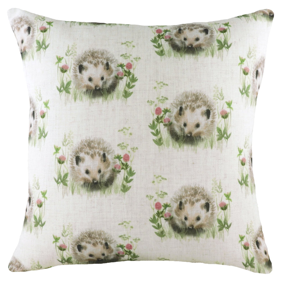 Hedgerow Hedgehog Repeat Cushion