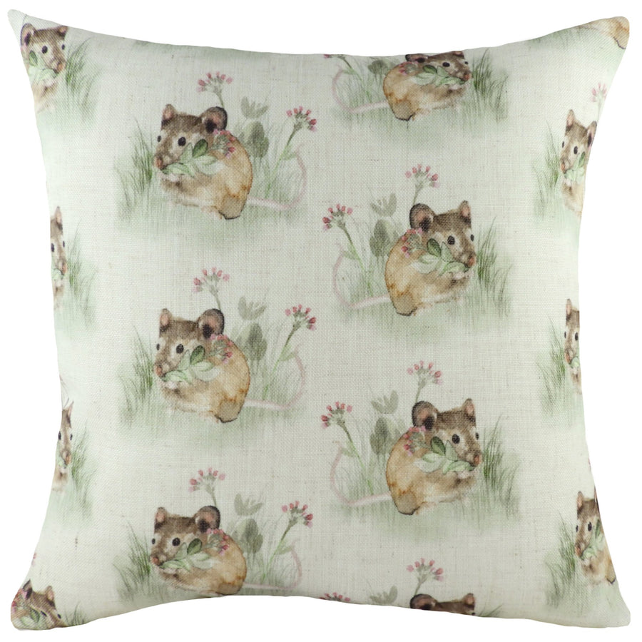 Hedgerow Mice Repeat Cushion