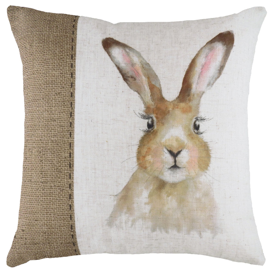 Hessian Hare Cushion