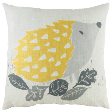Hulder Hedgehog Ochre Cushion