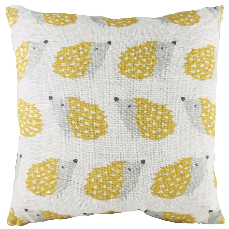 Hulder Hedgehog Repeat Ochre Cushion