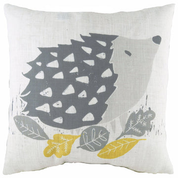 Hulder Hedgehog Grey Cushion