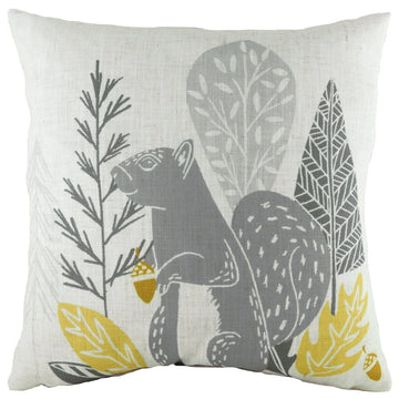 Hulder Squirrel Natural Cushion