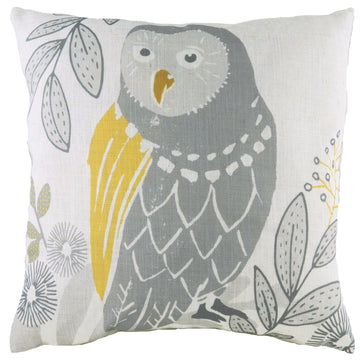 Hulder Owl Natural Cushion
