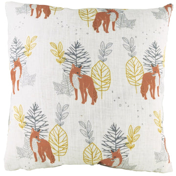 Hulder Fox Natural Repeat Cushion