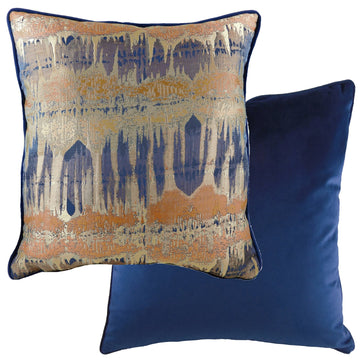 Inca Royal Piped Cushion