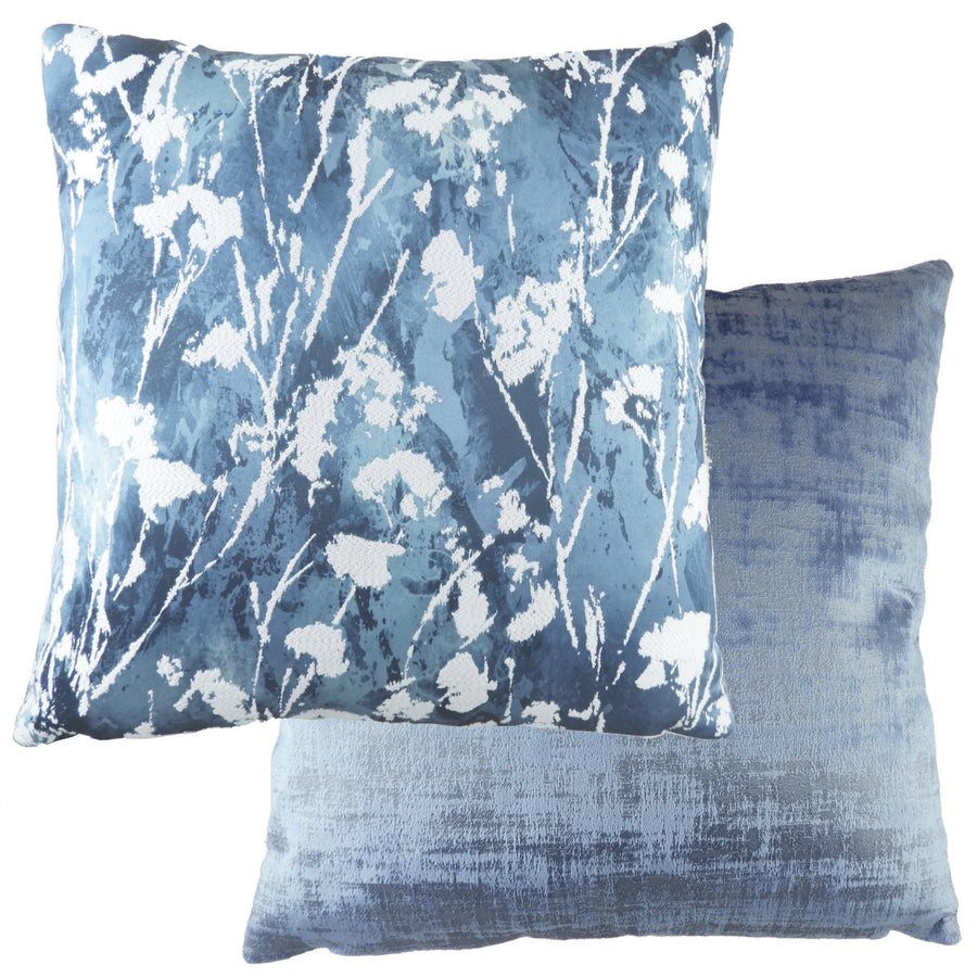 Jacinth Blue Cushion