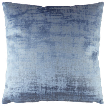 Jacinth Plain Blue Cushion