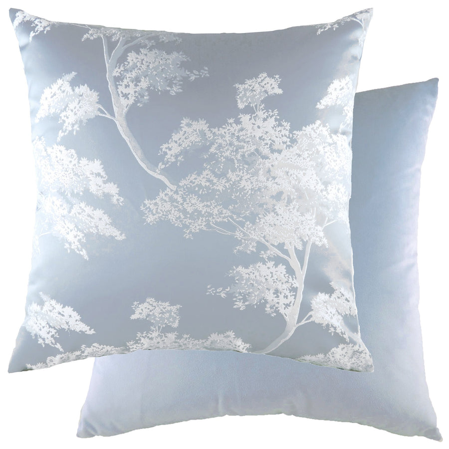 Japonica Sky/Velvet Cornflower Cushion