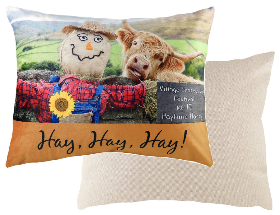 Kitchy Hay Hay Hay Cushion