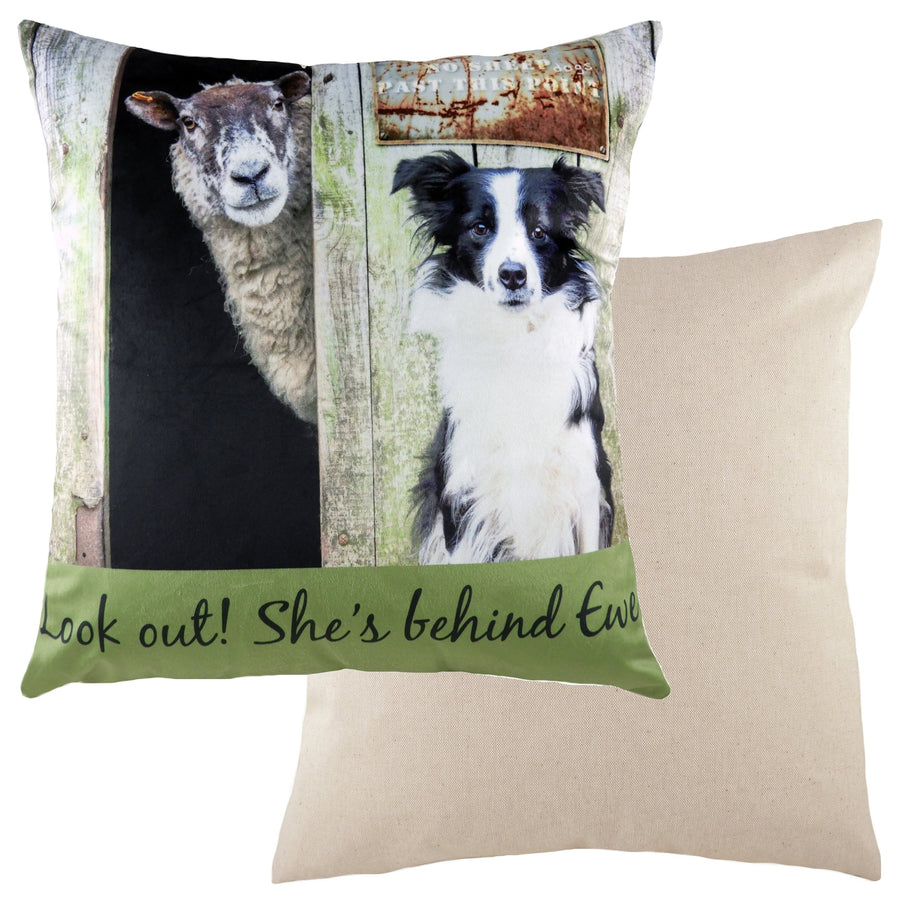 Kitchy Behind Ewe Cushion