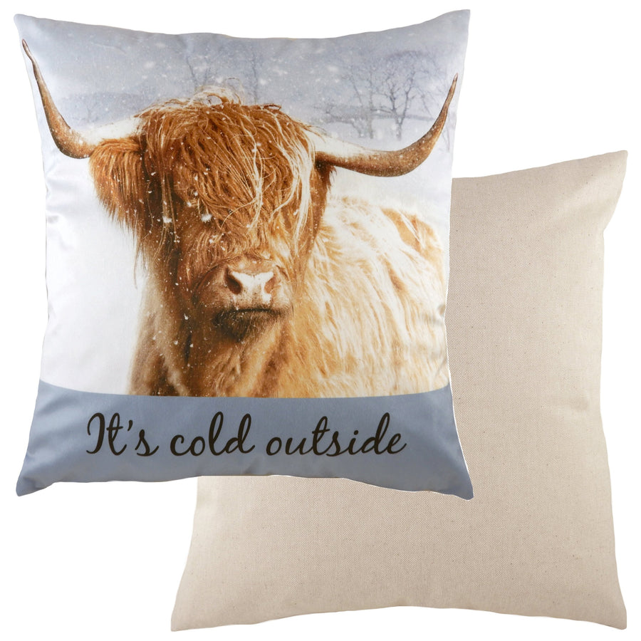 Kitchy Cold Outside Cushion