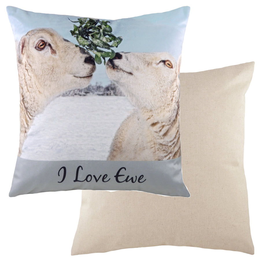 Kitchy Love Ewe Cushion