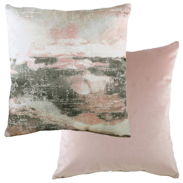 Landscape Powder/Grey Cushion