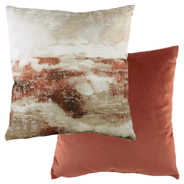 Landscape Terracotta Cushion