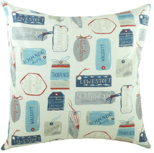 Marine East Anglia Navy Cushion