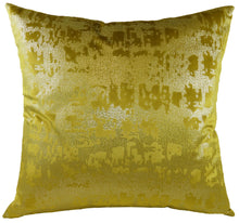 Mercury Ochre Cushion