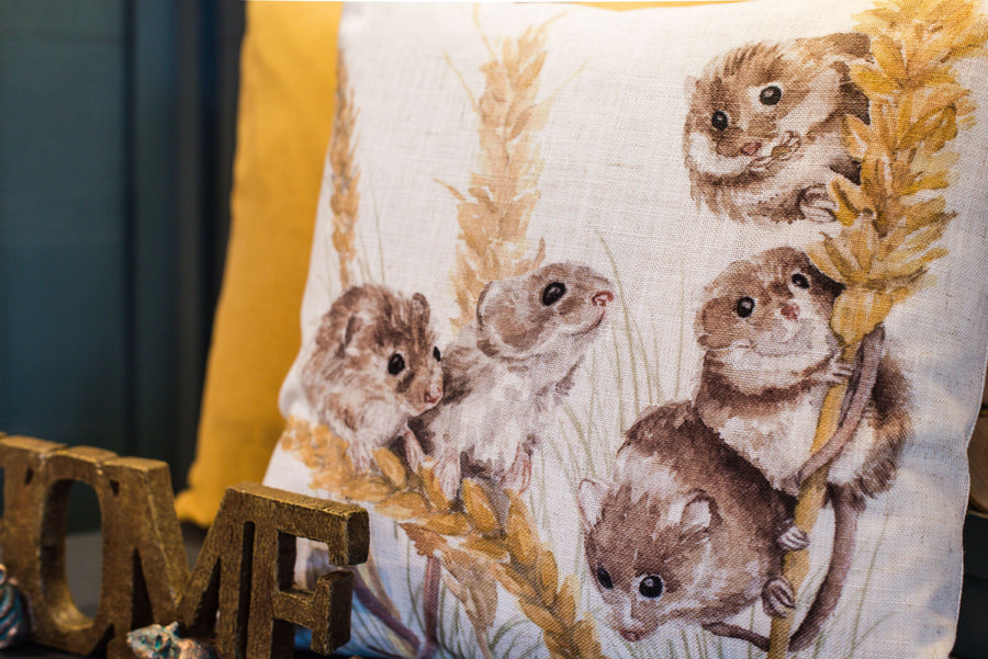 Woodland Fieldmice Cushion
