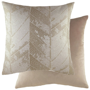 Myall Brass/Velvet Mocha Cushion