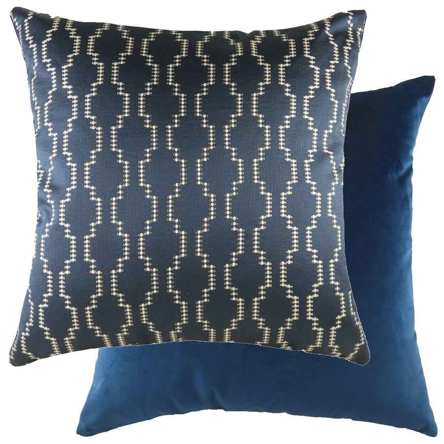 Nash Ink/Velvet Royal Cushion