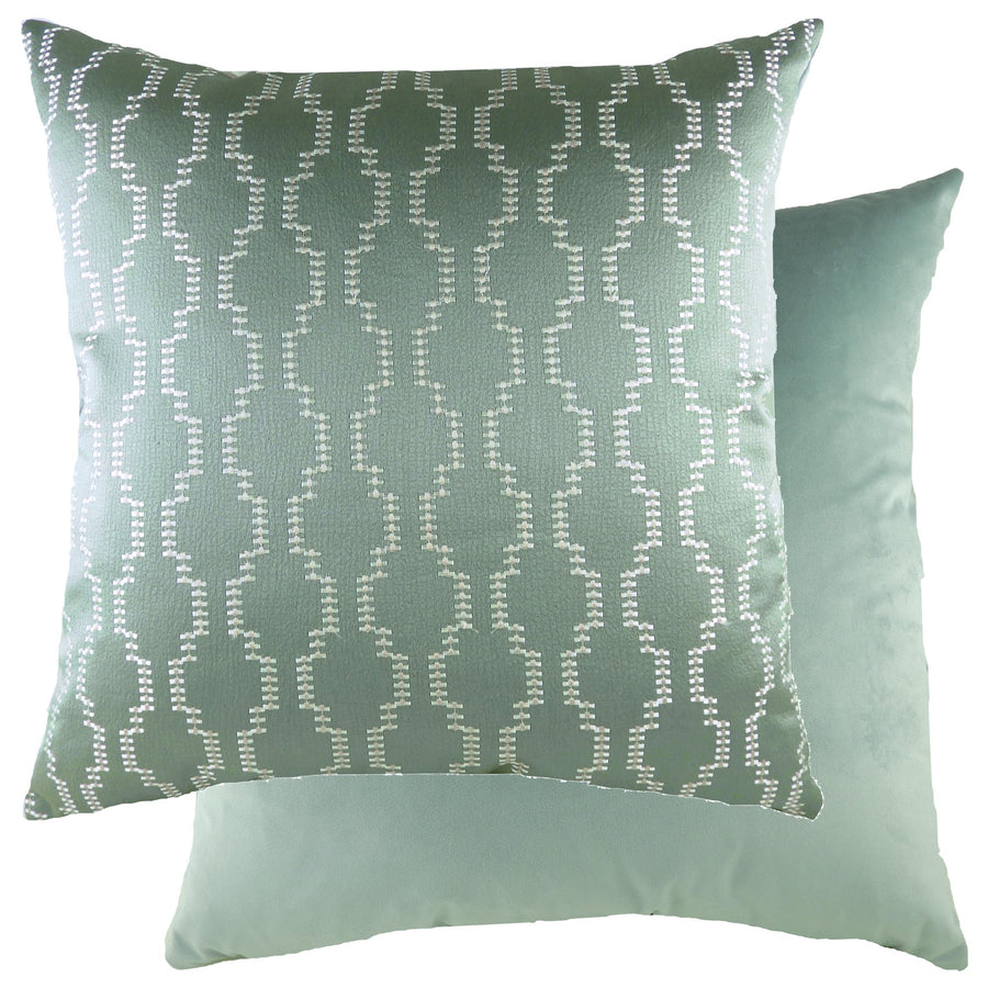 Nash Sage/Velvet Eau De Nil Cushion