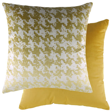 Nevado Gold/Velvet Gold Cushion