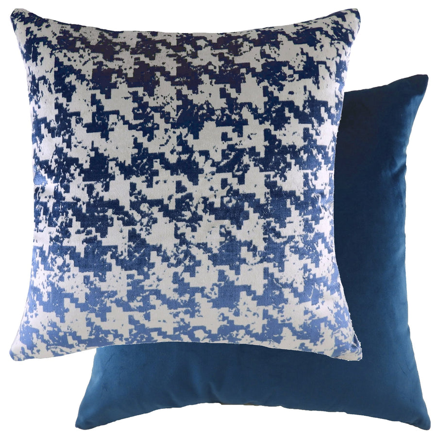 Nevado Indigo/Velvet Royal Cushion