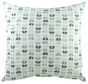 Nordic Geometric Grey Cushion