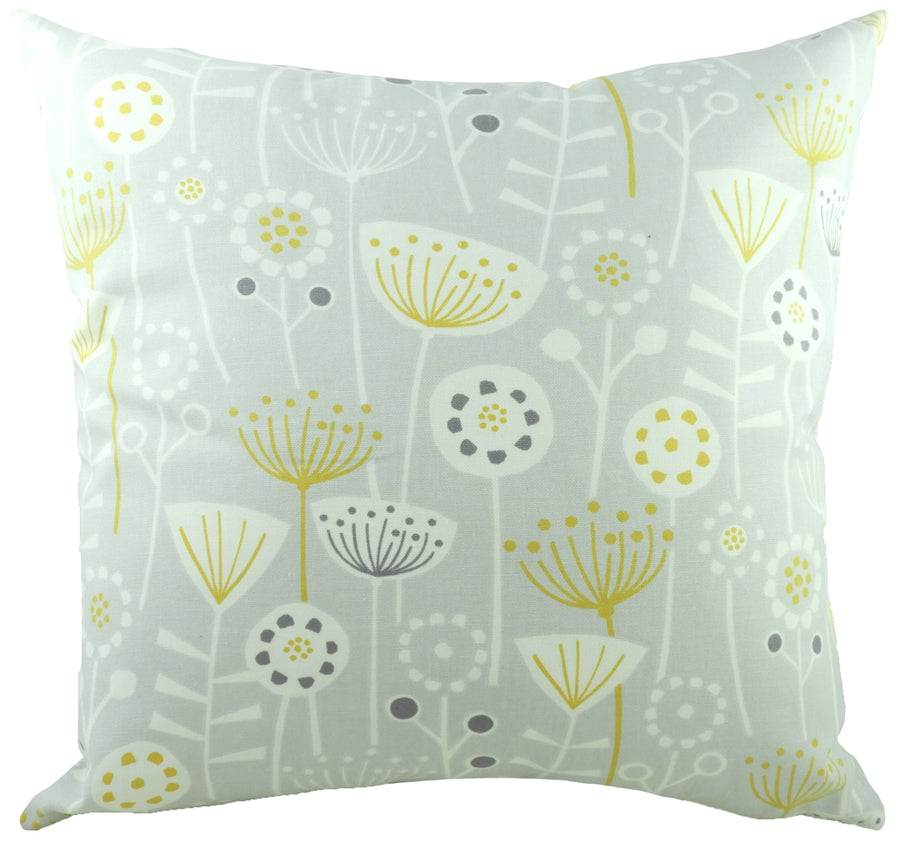 Nordic Seedheads Grey Cushion