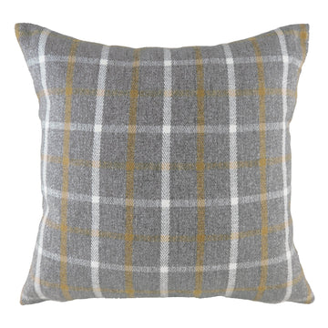 Perth Check Dark Grey Cushion