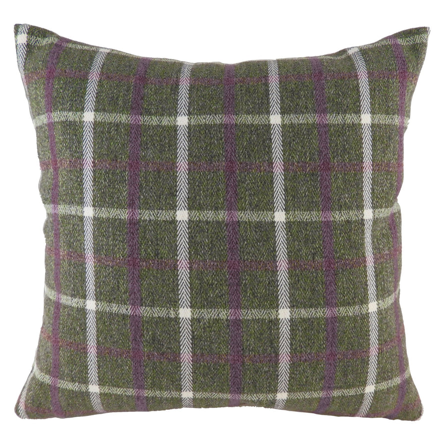 Perth Check Heather Cushion