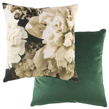 Photo Florals Cream Cushion