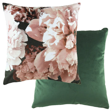 Photo Florals Powder Pink Cushion