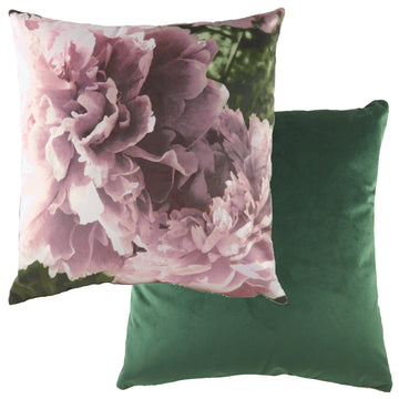 Photo Florals Dusky Pink Cushion