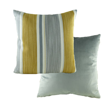 Pingxi Stripe Ochre Cushion