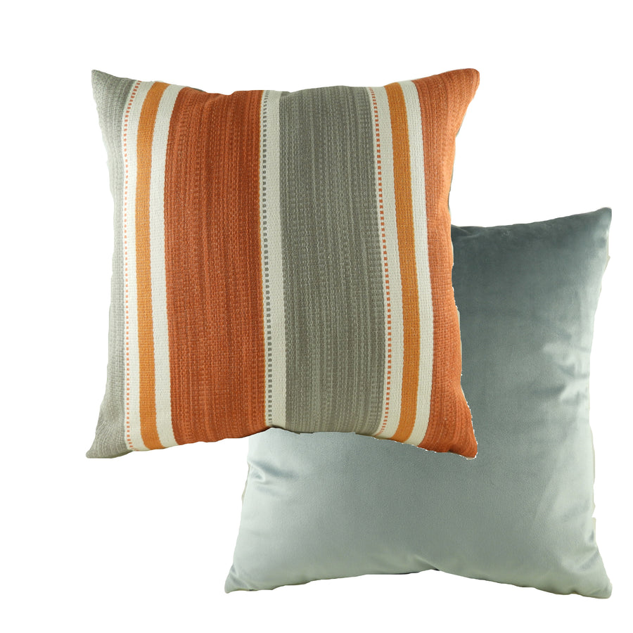 Pingxi Stripe Amber Cushion