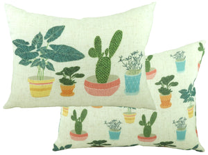 Pots of Nature Pot Plants Cushion