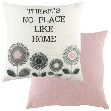 Retro Home Pink Cushion