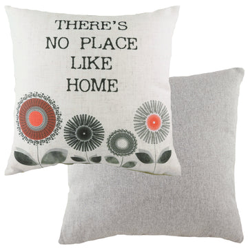 Retro Home Coral Cushion