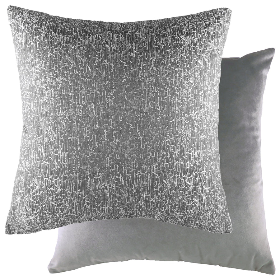 Rion Slate/Velvet Steel Cushion