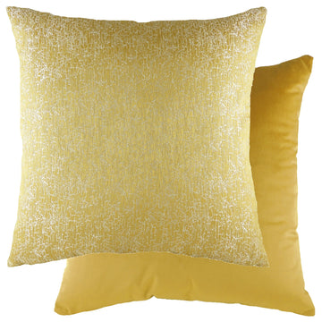 Rion Sunshine/Velvet Gold Cushion