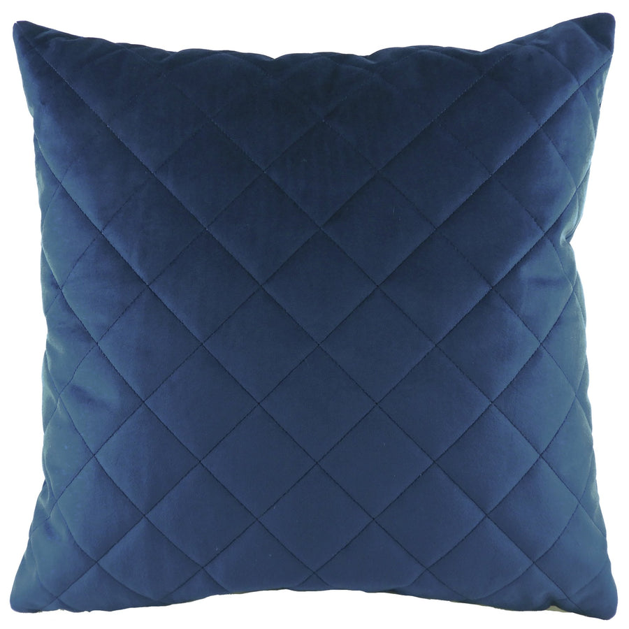 Royal Velvet Royal Diamond Quilted Cushion