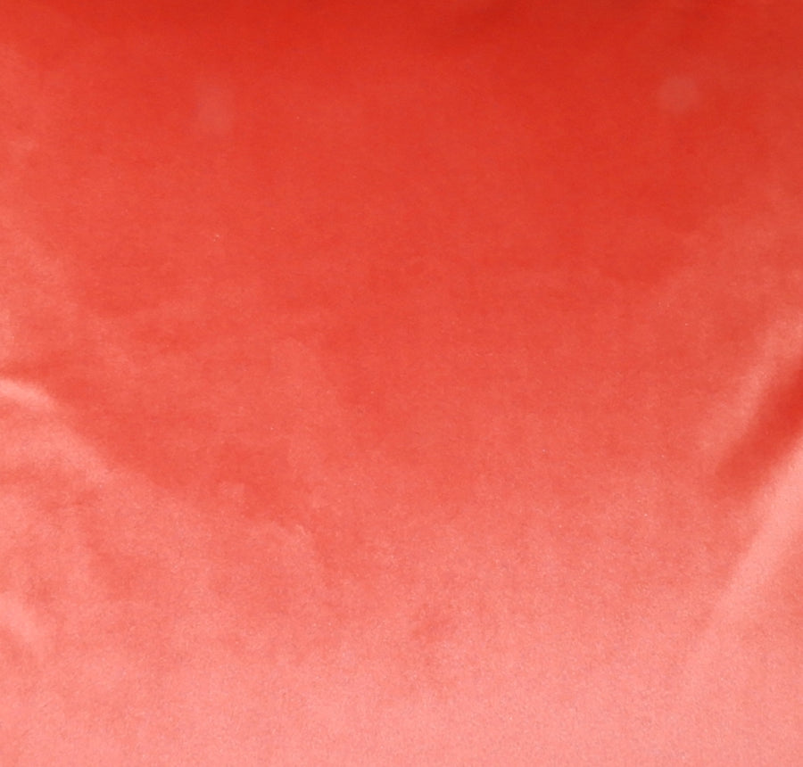 Royal Velvet Coral Fabric - by the metre