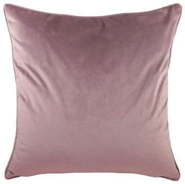 Royal Velvet Dusky Pink Piped Cushion