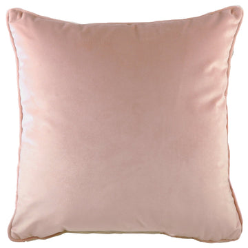 Royal Velvet Powder Piped Cushion